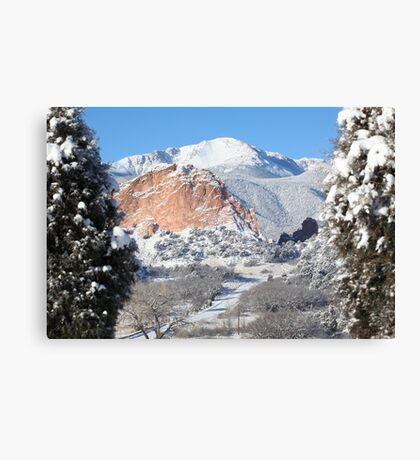 America's Mountain Canvas Print