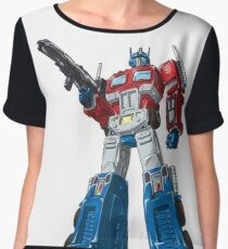 optimus prime Chiffon Top