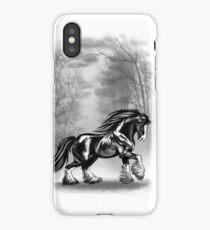Black Shire iPhone Case/Skin