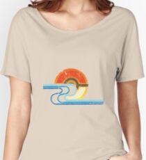 Pokemon Beach Tee Women's Relaxed Fit T-Shirt