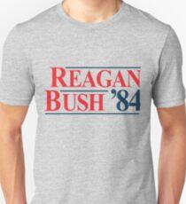 Legendary Regan Bush 84 Campaign Unisex T-Shirt