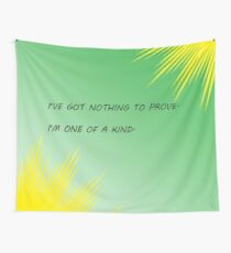 Young Justice Artemis quote Wall Tapestry