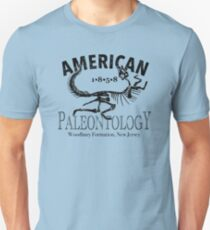 American Paleontology Unisex T-Shirt