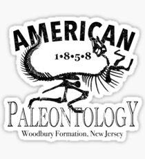 American Paleontology Sticker