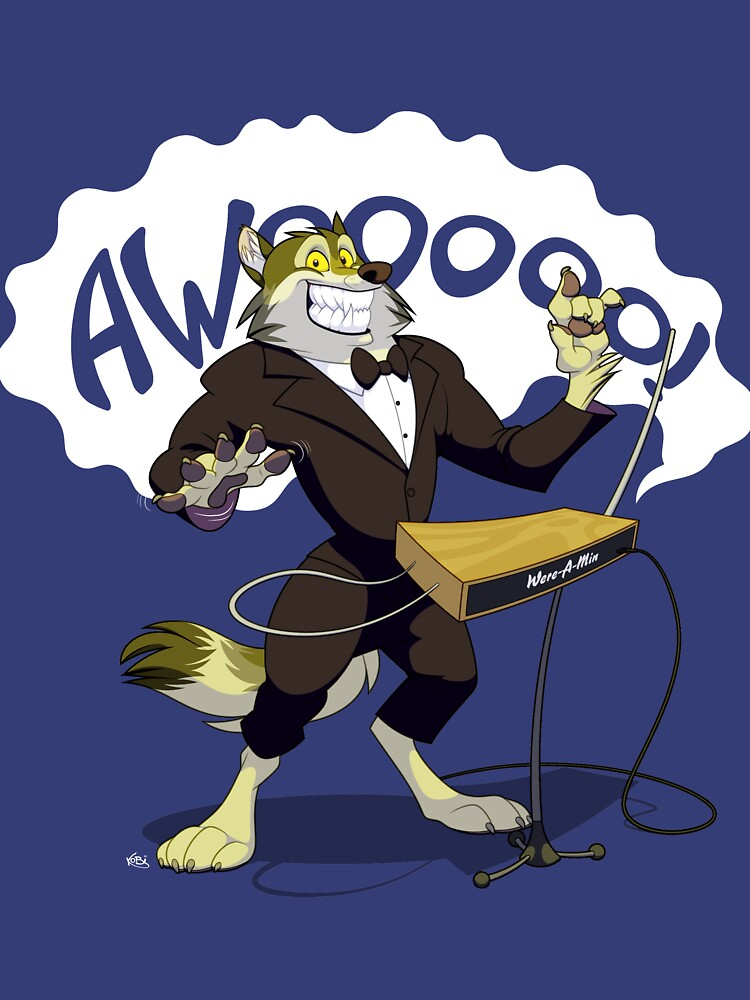 Theremin Wolf by Kobi-LaCroix