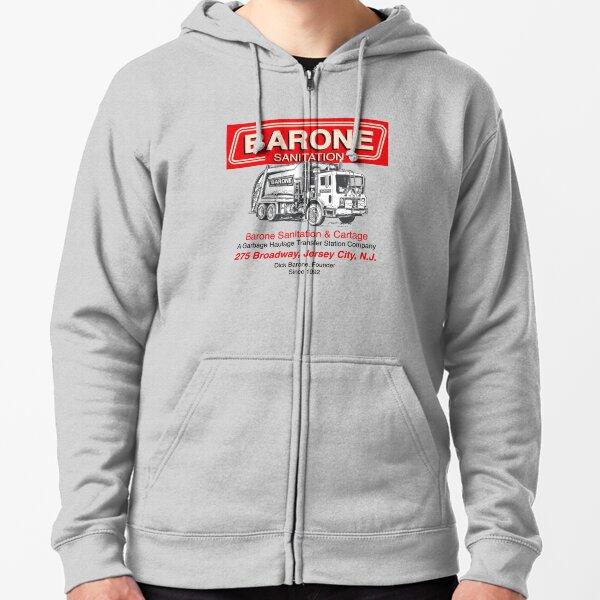 Barone Sanitation Zipped Hoodie