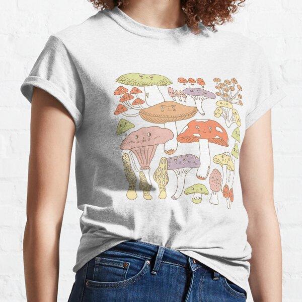 Cute Mushrooms Classic T-Shirt