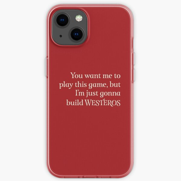 You Want Me to Play This Game - Light Text iPhone Soft Case