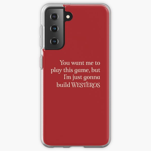 You Want Me to Play This Game - Light Text Samsung Galaxy Soft Case