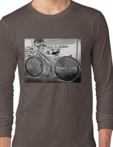 L Train Graham Ave Brooklyn NY Long Sleeve T-Shirt