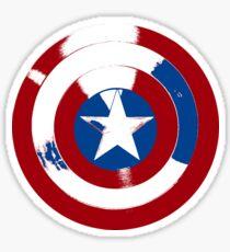 Cap's Shield Sticker