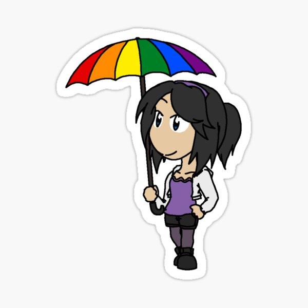 RAIN - Chibi Maria 2 Sticker