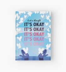 It's Okay Illustrated Quote Hardcover Journal