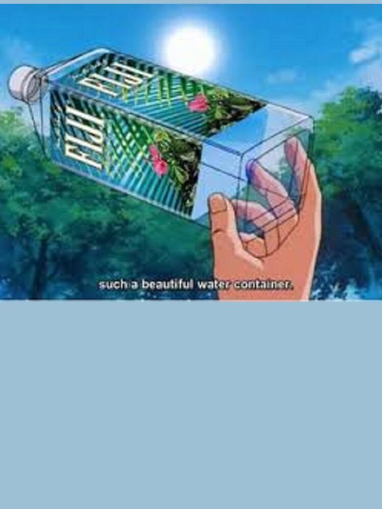 Fiji Water Anime by Reyc49er