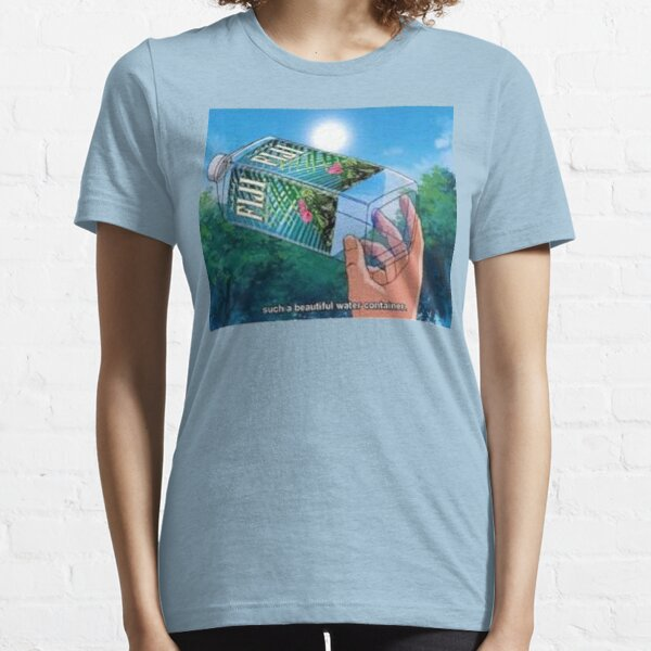 Fiji Water Anime Essential T-Shirt