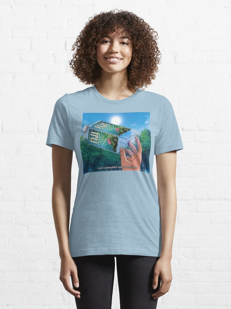 Alternate view of Fiji Water Anime Essential T-Shirt