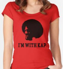 I'm With Kap Women's Fitted Scoop T-Shirt