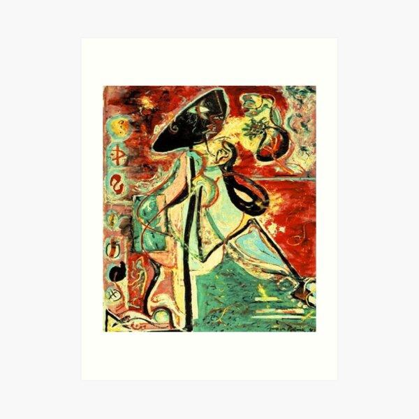 Moon Woman by Jackson Pollock Art Print