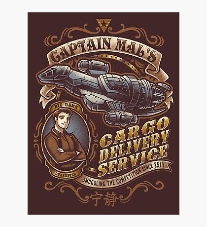 Capt. Mal's Cargo Delivery Photographic Print