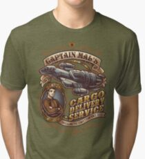 Capt. Mal's Cargo Delivery Tri-blend T-Shirt