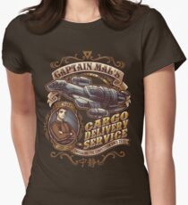 Capt. Mal's Cargo Delivery Womens Fitted T-Shirt