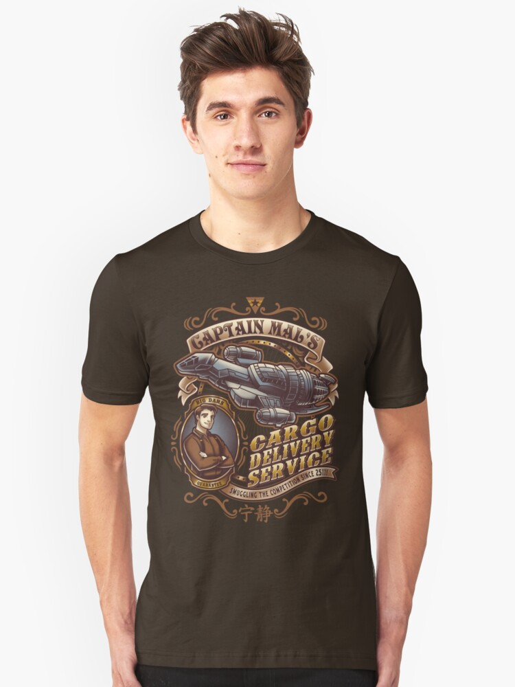 Capt. Mal's Cargo Delivery Unisex T-Shirt Front