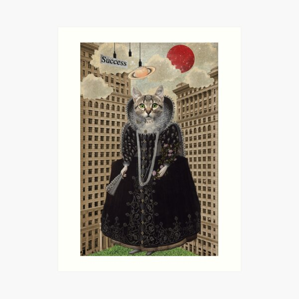 Lost In The City -- Animal Collection Art Print