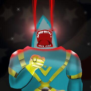 幸せなサメ by mindofamonkey