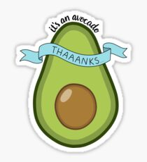 Its an avocado! Sticker