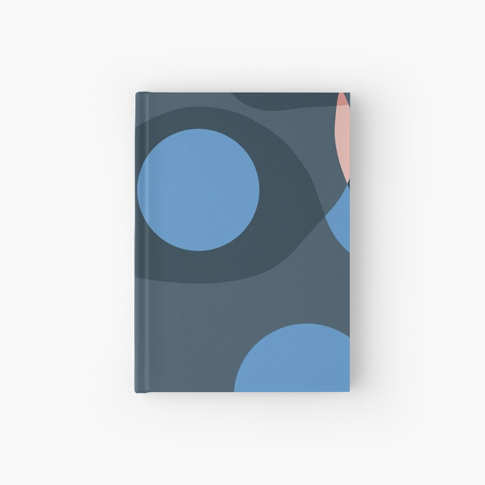 Abstract Journal Hardcover Journal