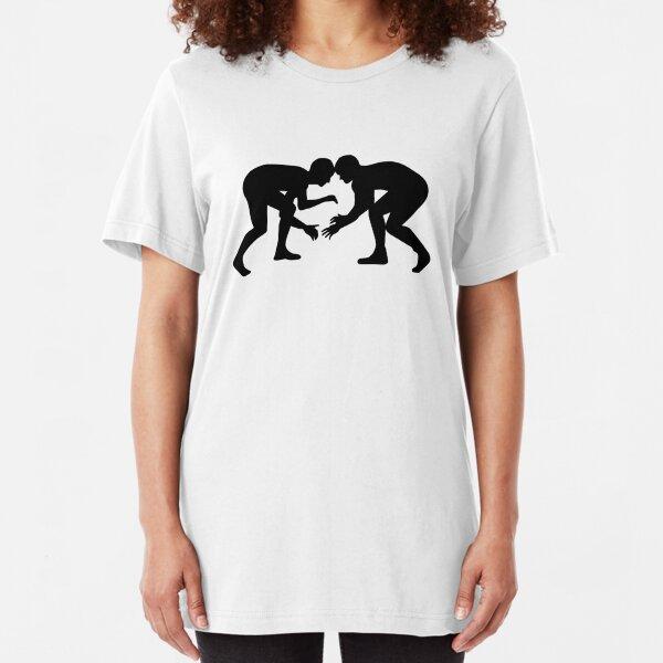 Wrestling Wrestler Slim Fit T-Shirt