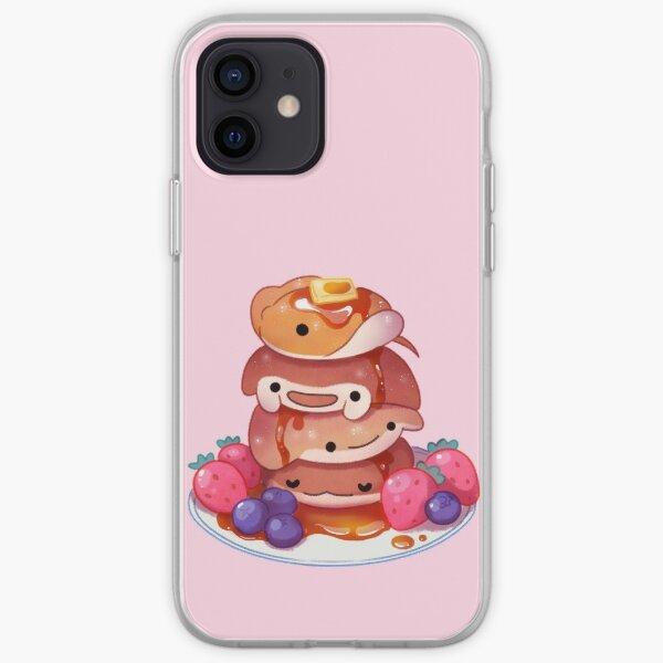 Fluffy sea pancakes iPhone Soft Case