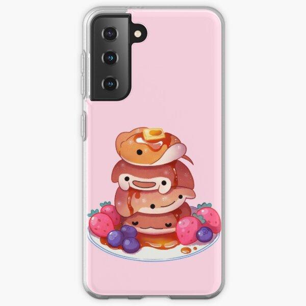 Fluffy sea pancakes Samsung Galaxy Soft Case