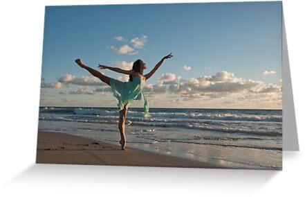Sunrise Dancer 1 by Jacki Campany