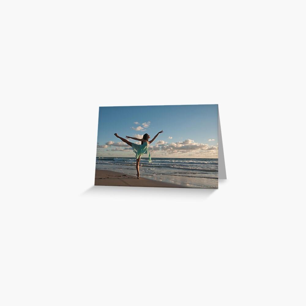 Sunrise Dancer 1 Greeting Card