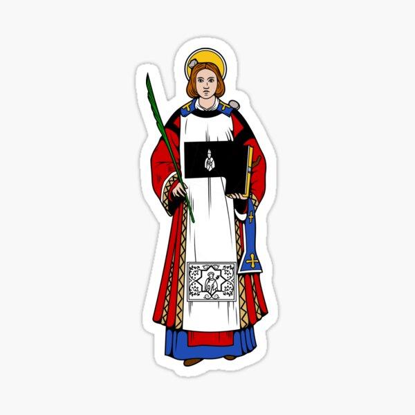 ST STEPHEN, as DEACON Sticker