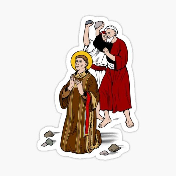 ST STEPHEN, FIRST MARTYR  Sticker
