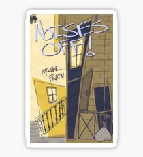 Noises Off Playbill Sticker