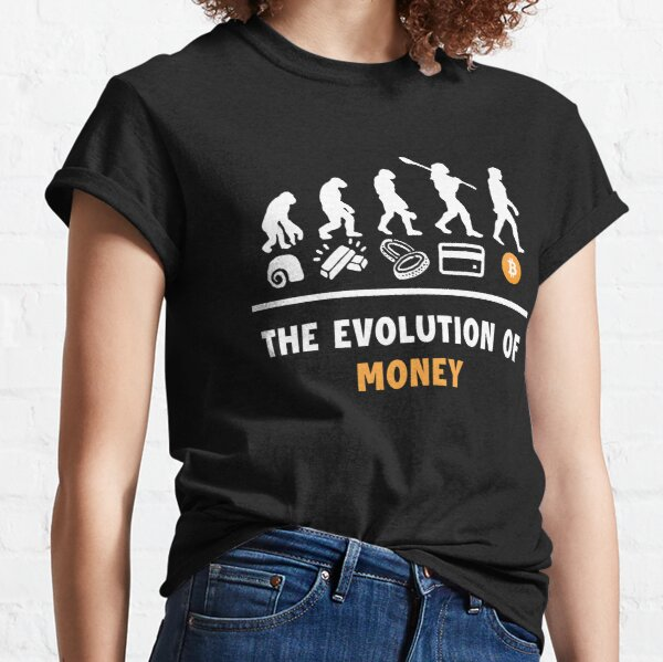 Elon musk evolution of money BTC Bword event Classic T-Shirt