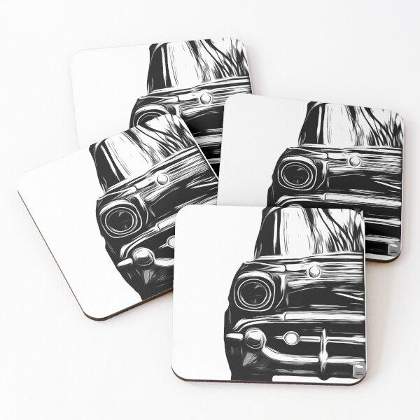 Classic Car - 57 Belair  Coasters (Set of 4)