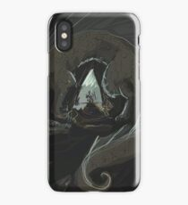 Sometimes the only thing a brave heart gets you, is dead iPhone Case