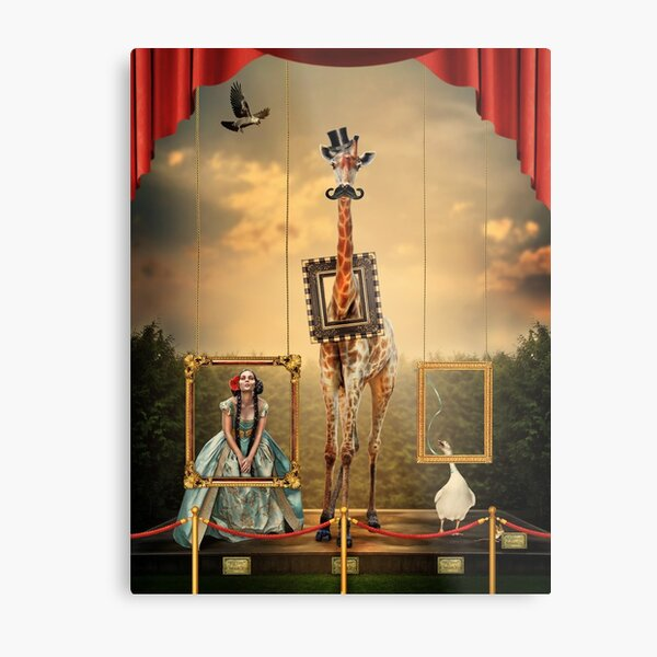 The Exhibitionists Metal Print