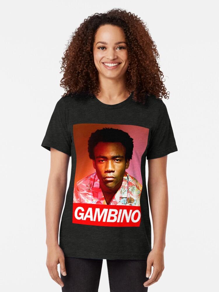 Alternative Ansicht von Gambino Vintage T-Shirt