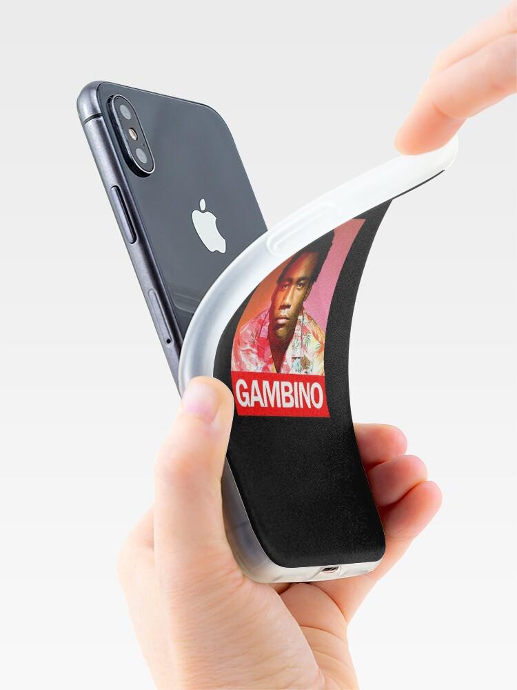 Alternative Ansicht von Gambino iPhone-Hülle & Cover