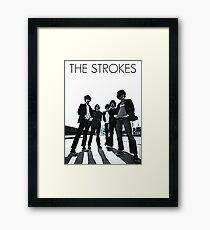 the strokes Framed Print