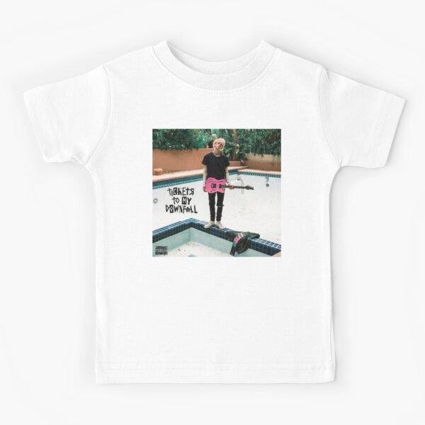 gun man standing by the pool Kids T-Shirt