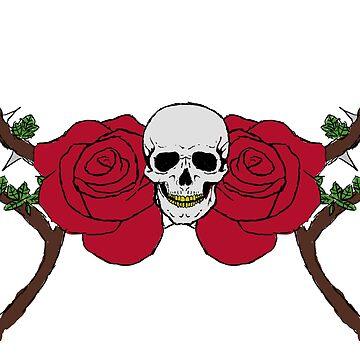 Skulls n roses by Avvi