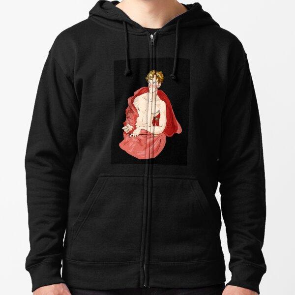 St. Sebastian Zipped Hoodie
