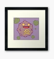 Zombies Go Framed Print