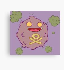 Zombies Go Canvas Print